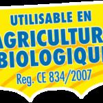 Logo Utilisable en agriculture biologique